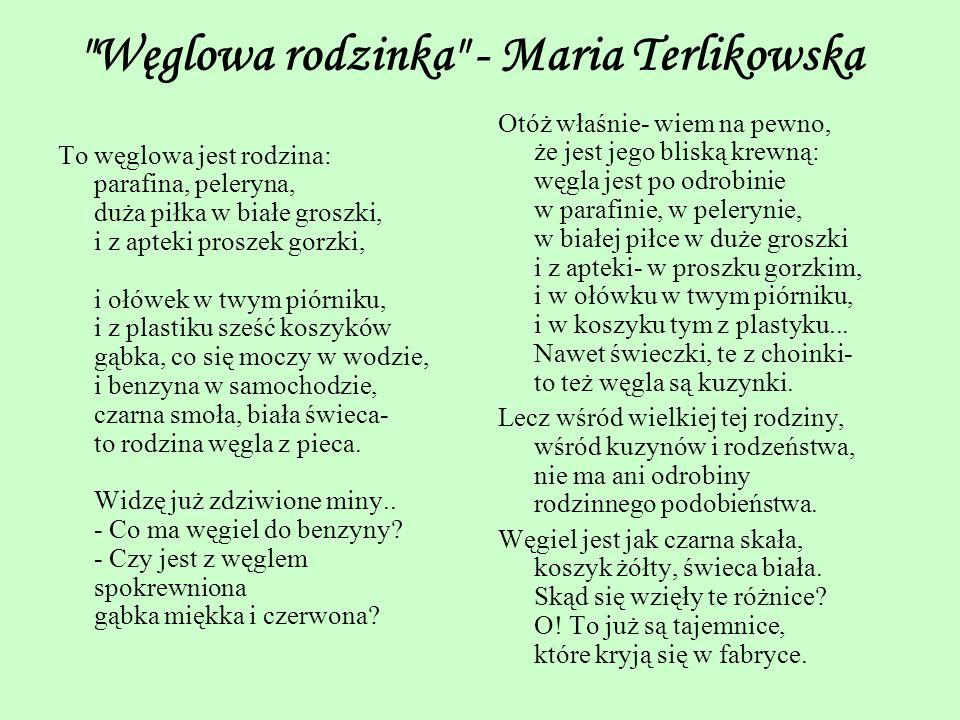 Węglowa rodzinka - Maria Terlikowska