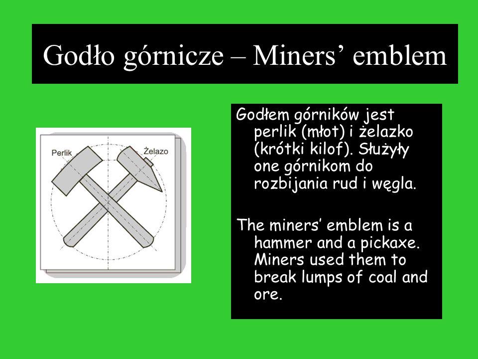 Godło górnicze – Miners' emblem