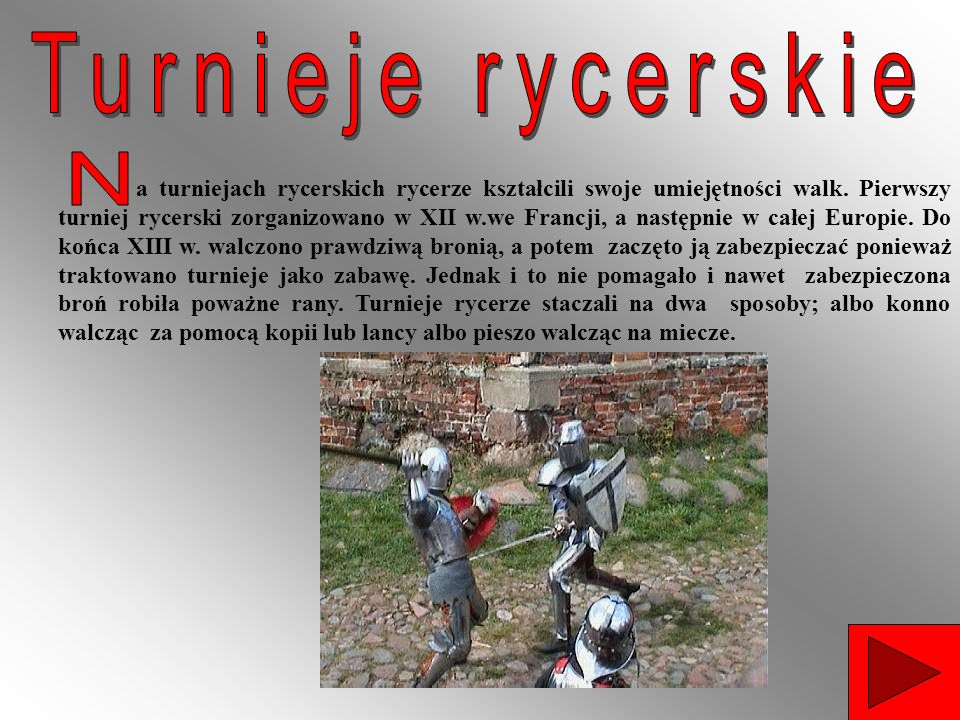 Turnieje rycerskie N.