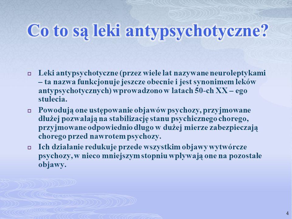 Co to są leki antypsychotyczne