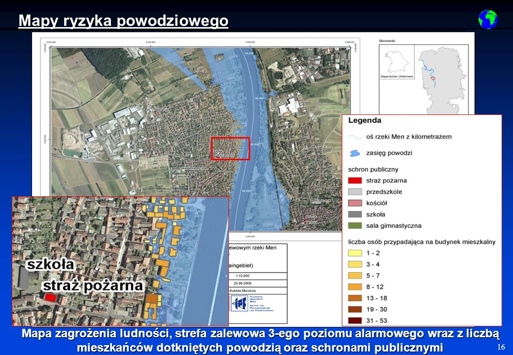 Mapy ryzyka powodziowego