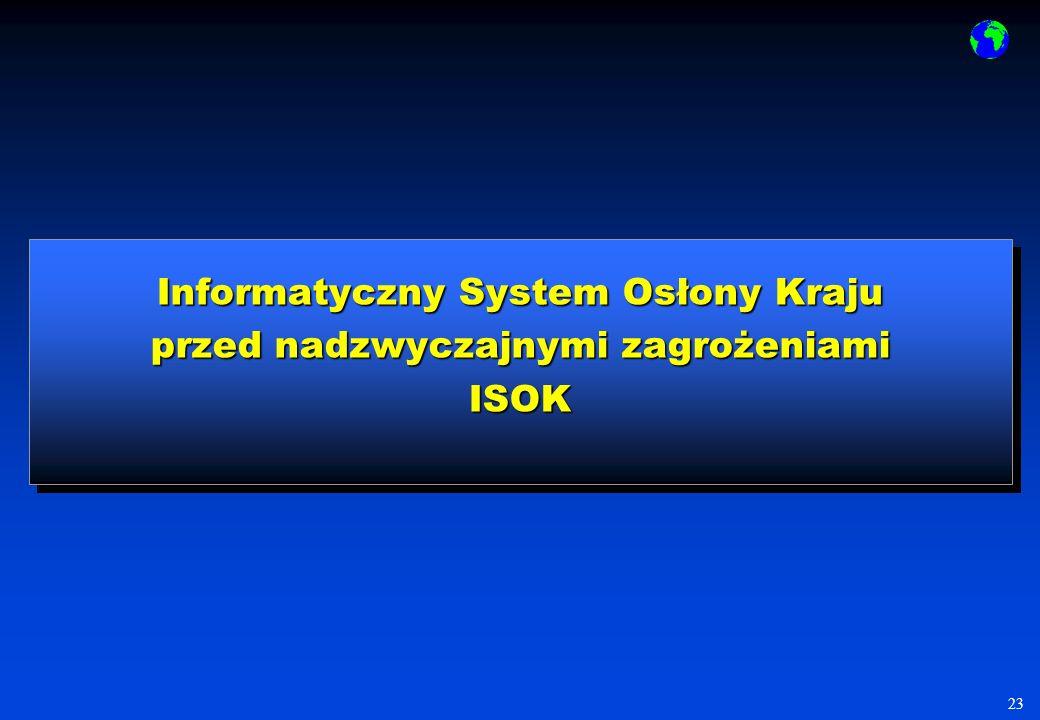 Informatyczny System Osłony Kraju przed nadzwyczajnymi zagrożeniami ISOK