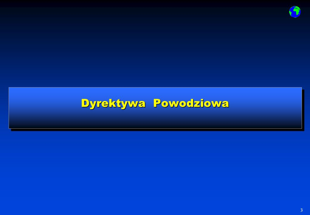 Dyrektywa Powodziowa