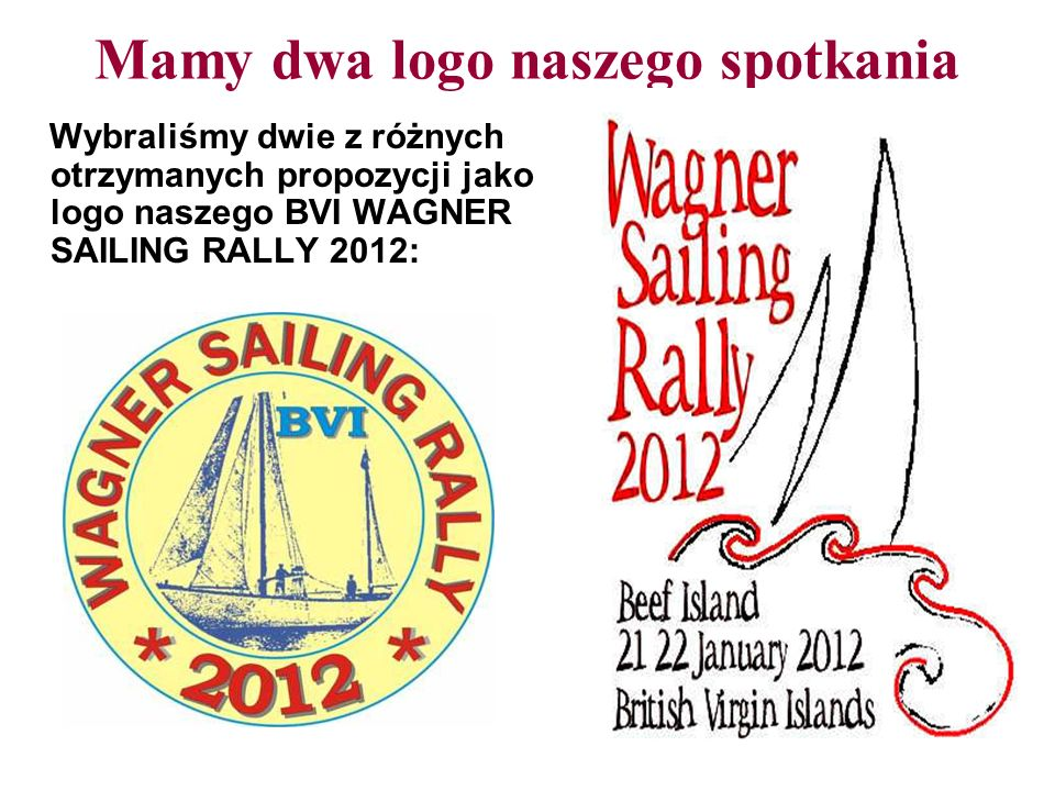Mamy dwa logo naszego spotkania