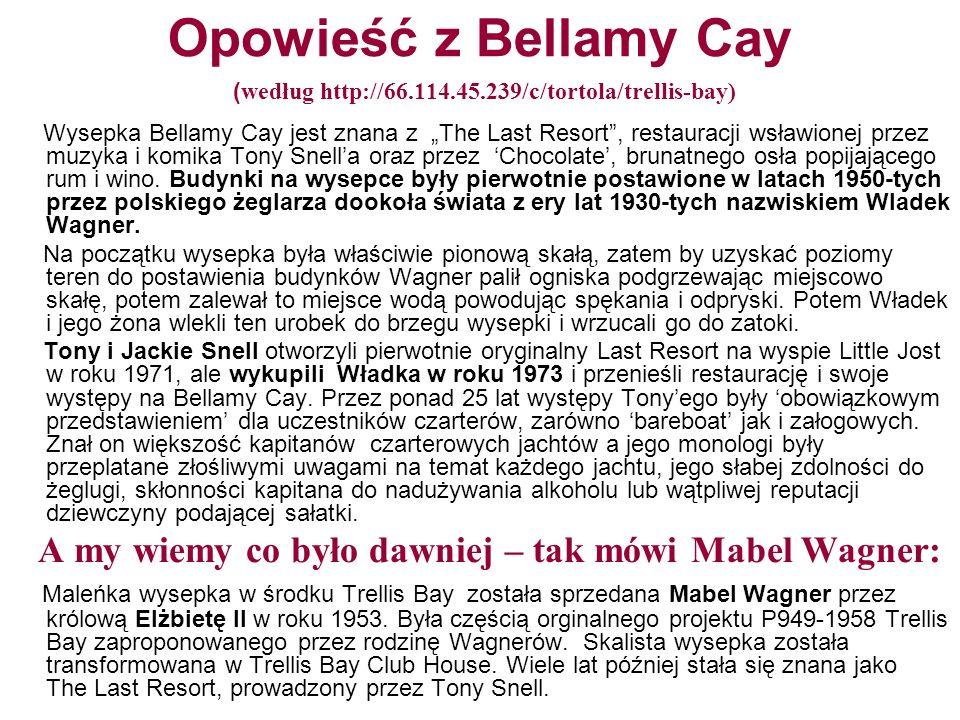 Opowieść z Bellamy Cay (według http://66. 114. 45