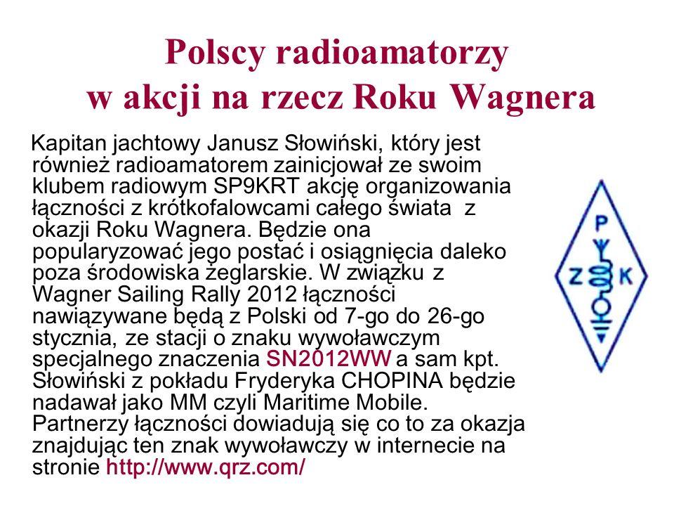 Polscy radioamatorzy w akcji na rzecz Roku Wagnera