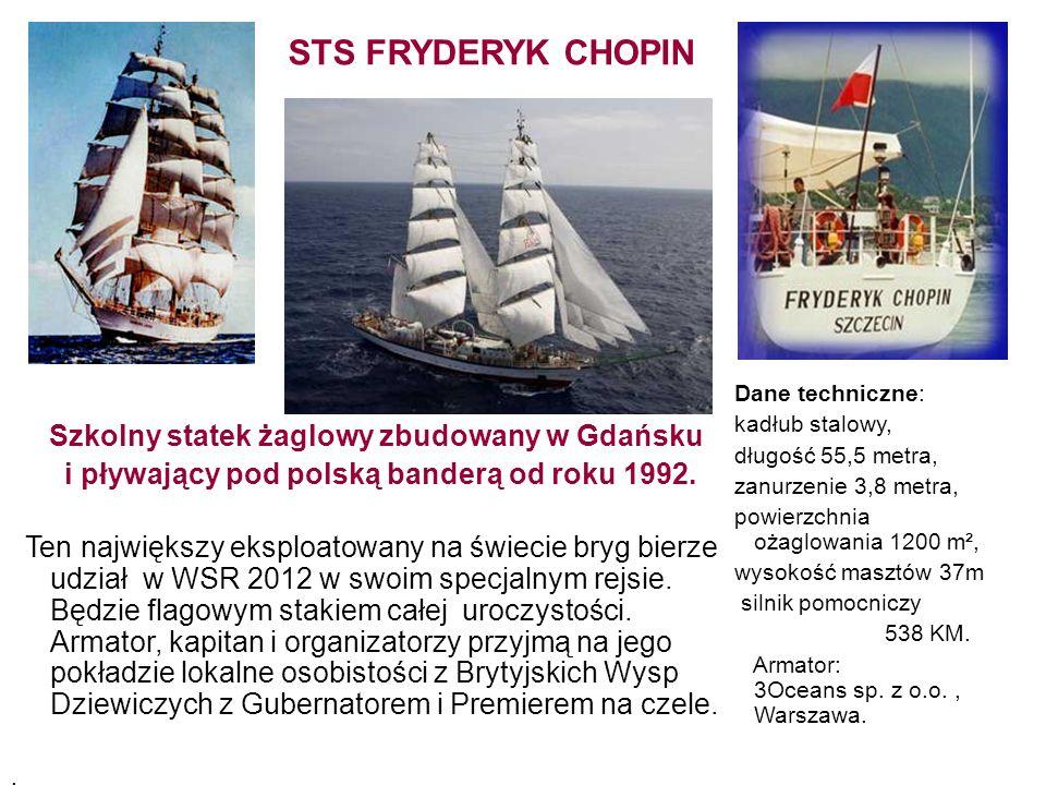 Szkolny statek żaglowy zbudowany w Gdańsku