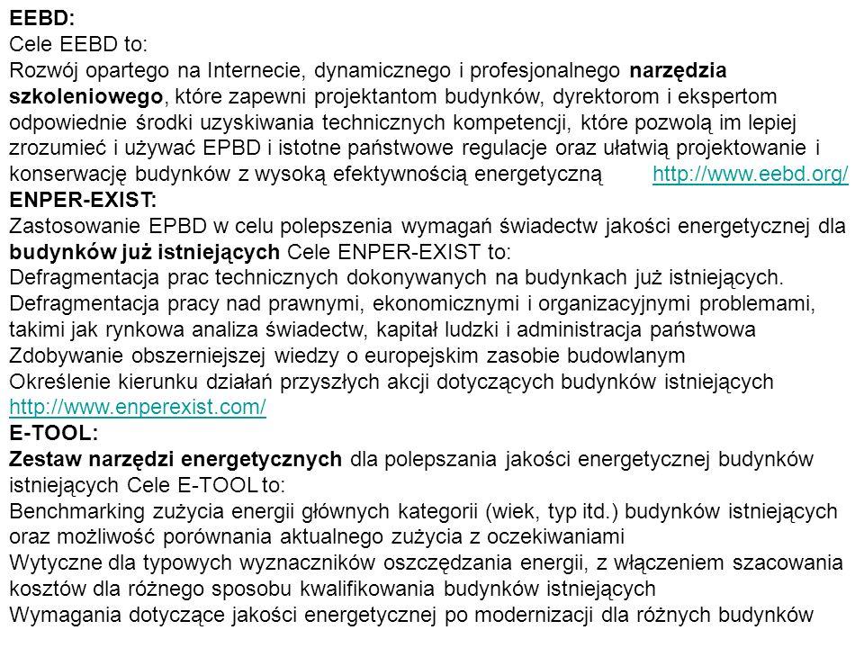 EEBD: Cele EEBD to:
