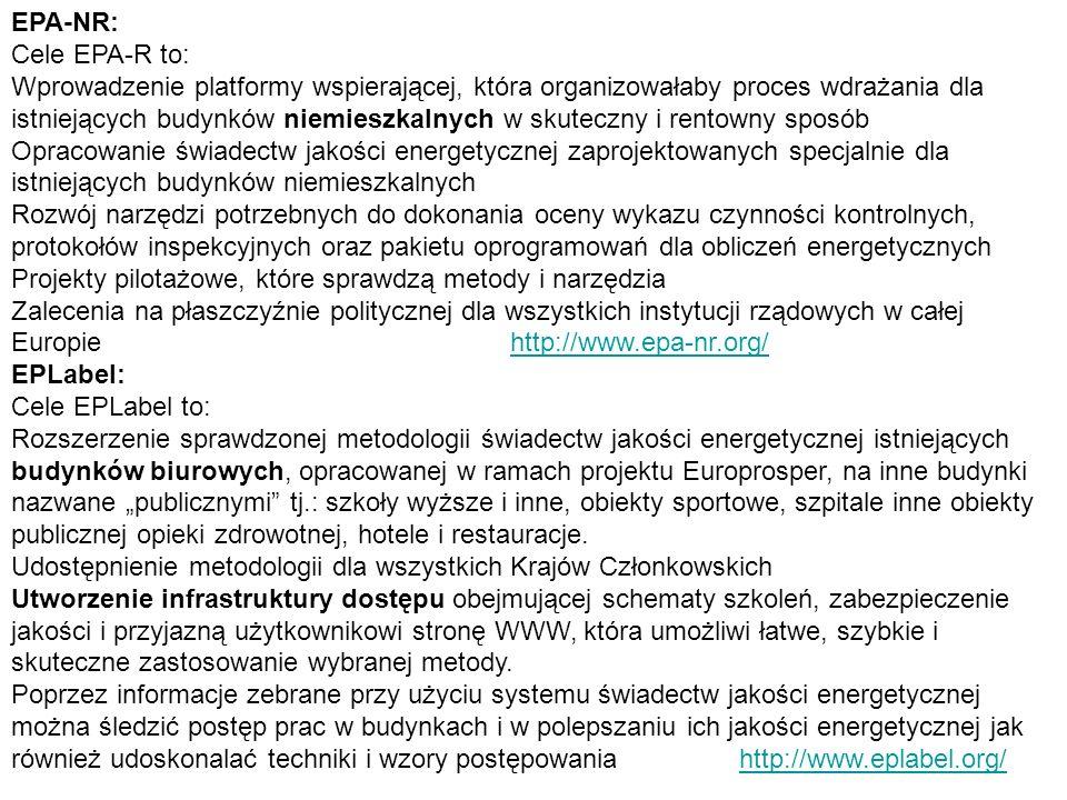 EPA-NR: Cele EPA-R to: