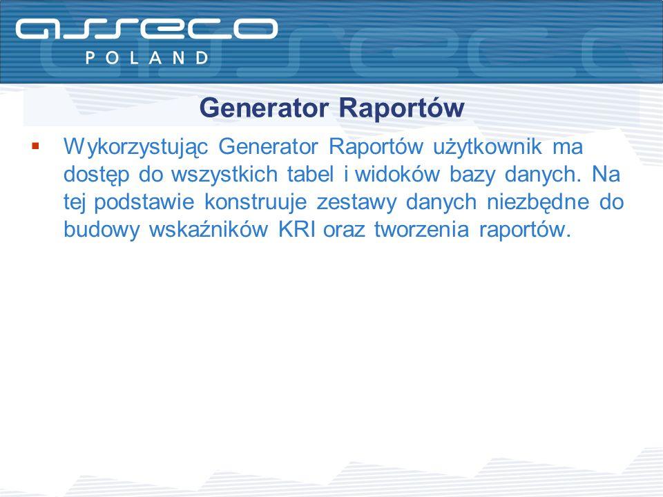 Generator Raportów