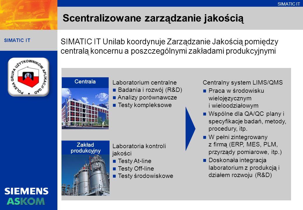 Scentralizowane zarządzanie jakością