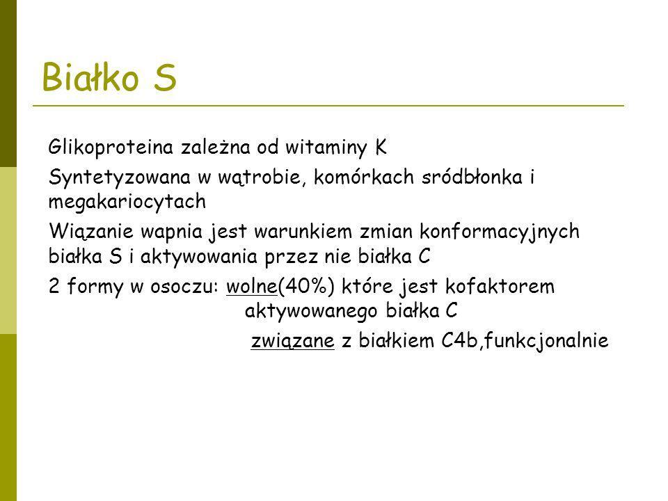 Białko S Glikoproteina zależna od witaminy K