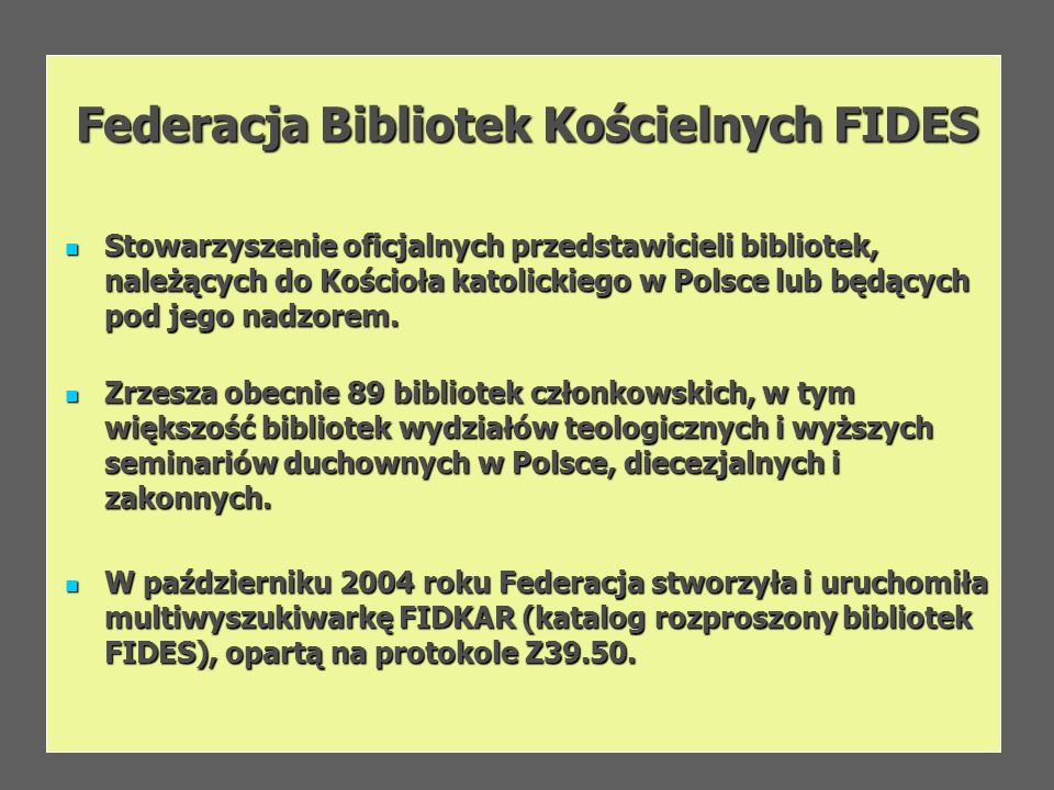 Federacja Bibliotek Kościelnych FIDES