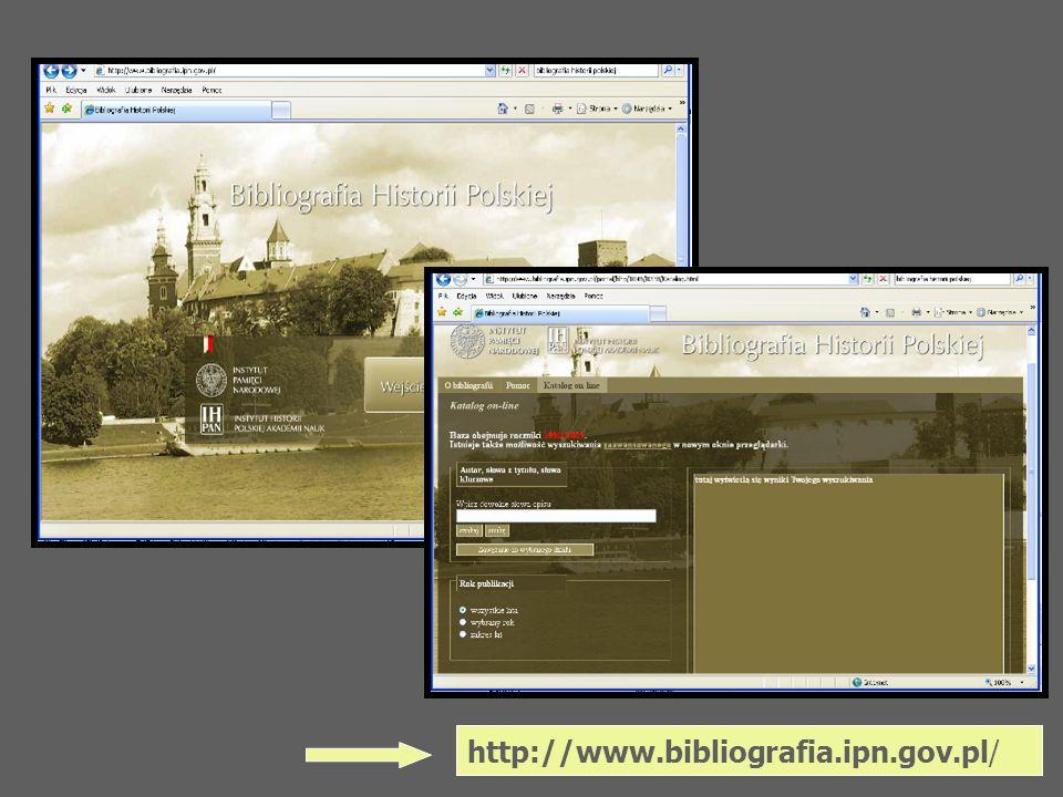 http://www.bibliografia.ipn.gov.pl/
