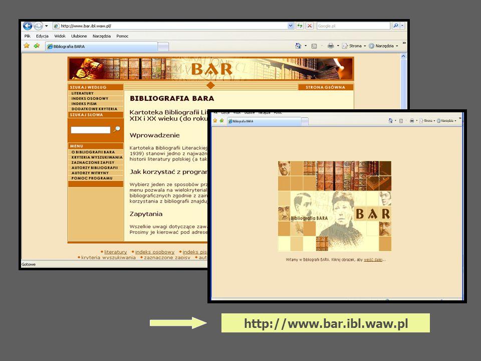 http://www.bar.ibl.waw.pl