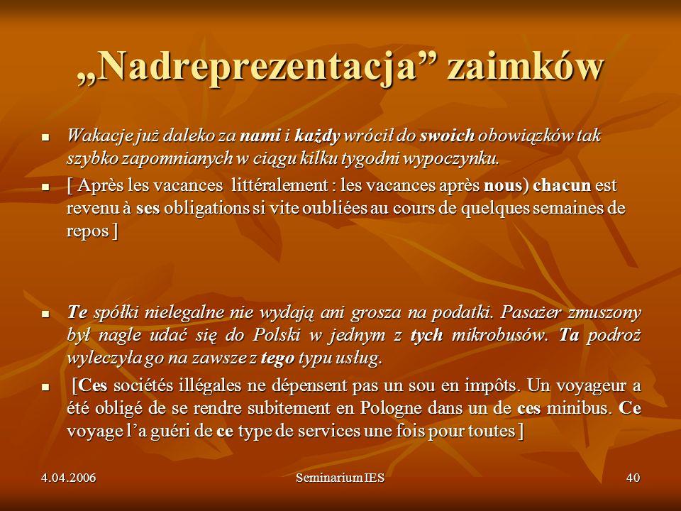 """""""Nadreprezentacja zaimków"""