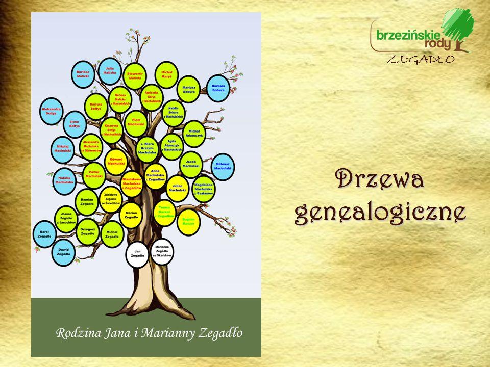 ZEGADŁO Drzewa genealogiczne