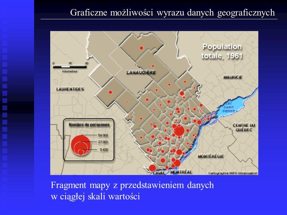 Graficzne możliwości wyrazu danych geograficznych