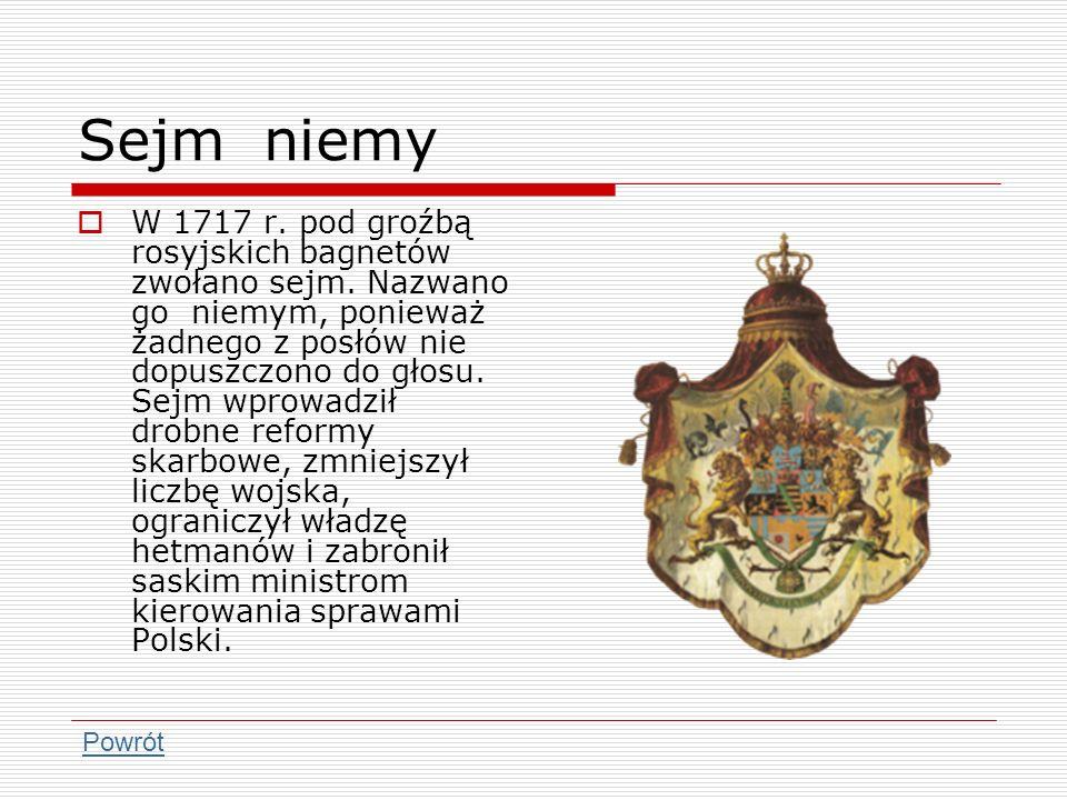 Sejm niemy