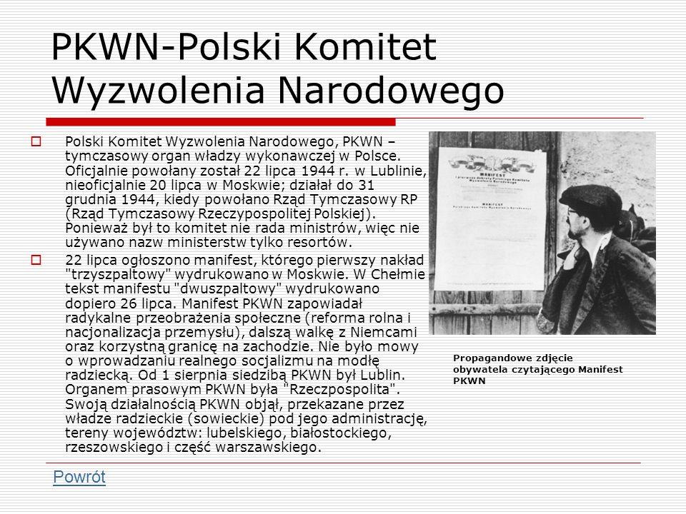 PKWN-Polski Komitet Wyzwolenia Narodowego