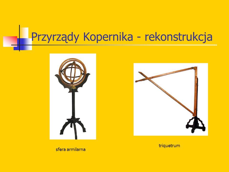 Przyrządy Kopernika - rekonstrukcja