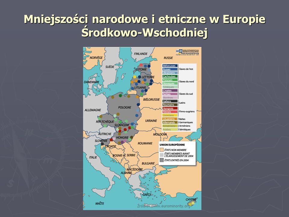 Mniejszości narodowe i etniczne w Europie Środkowo-Wschodniej