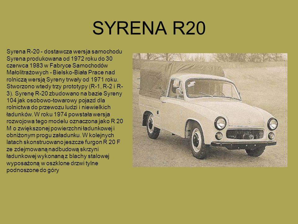 SYRENA R20