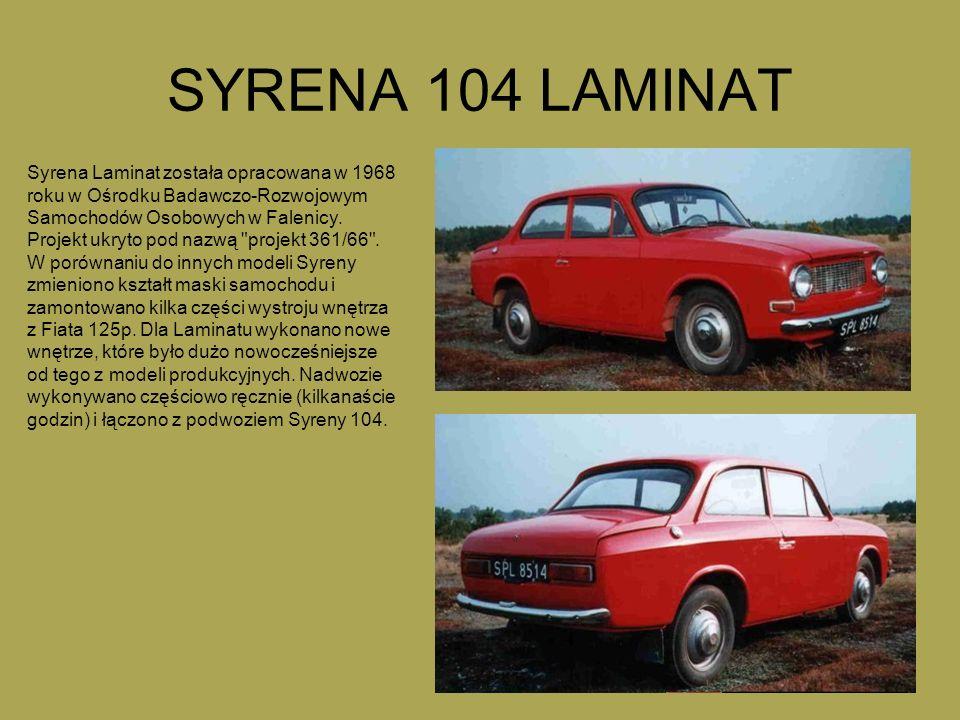 SYRENA 104 LAMINAT