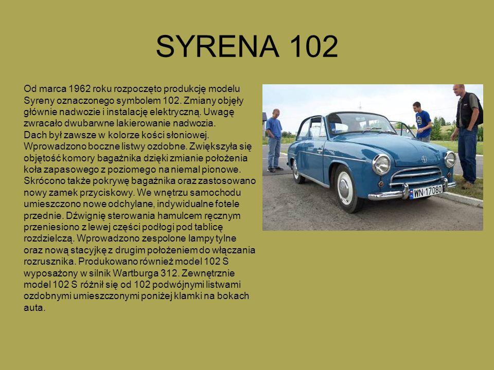SYRENA 102