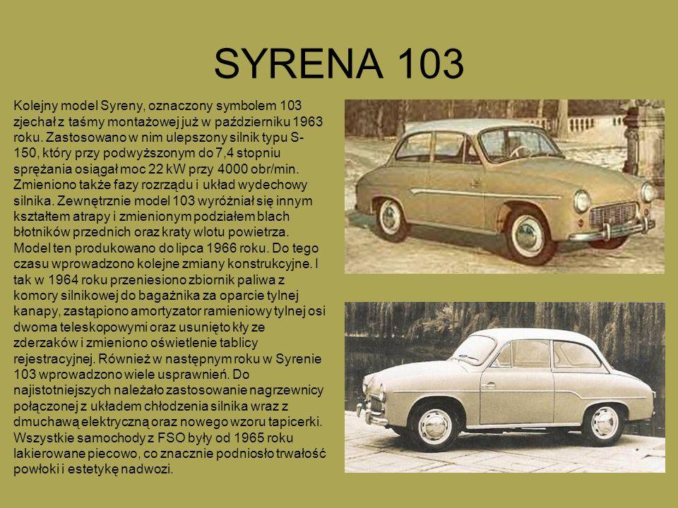 SYRENA 103