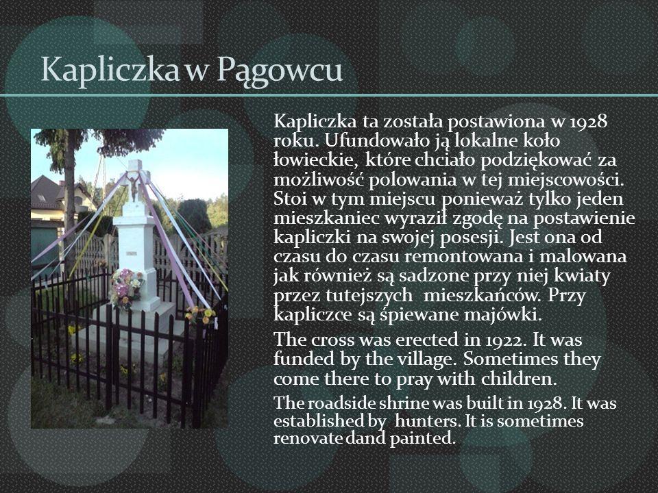 Kapliczka w Pągowcu