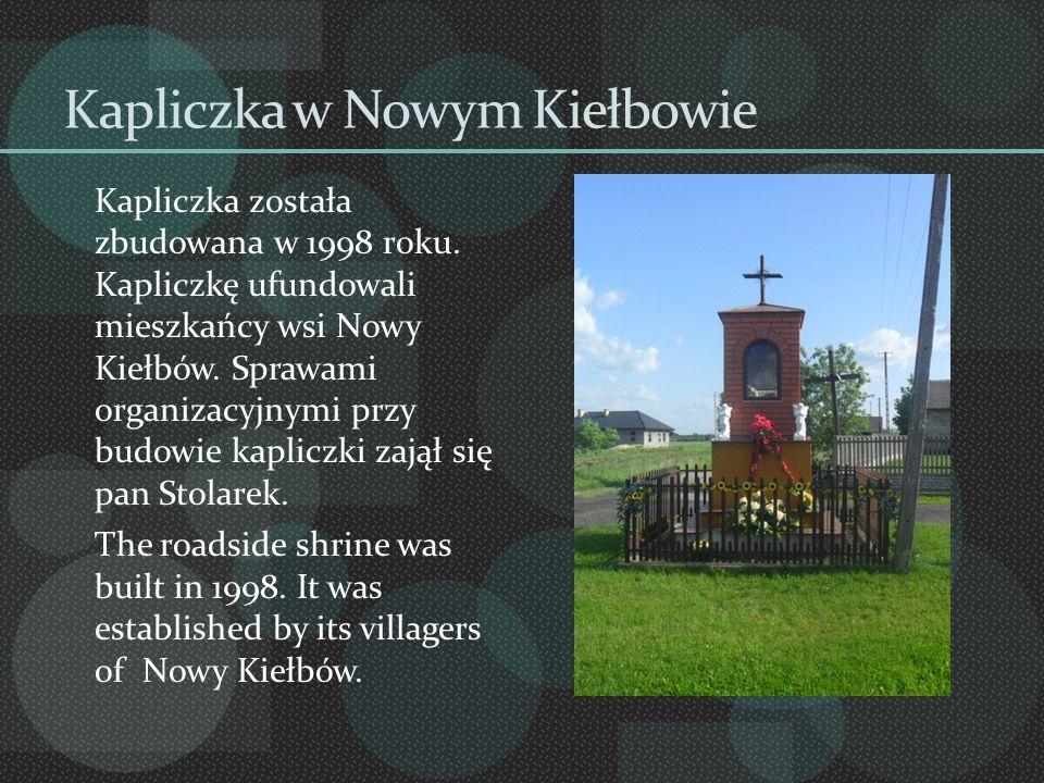 Kapliczka w Nowym Kiełbowie