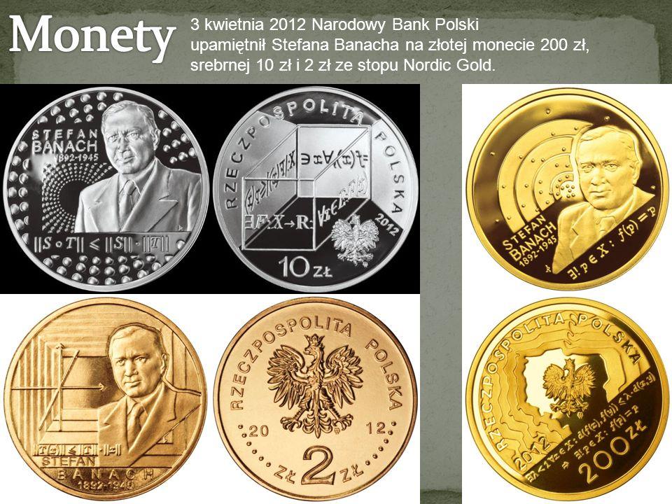 Monety 3 kwietnia 2012 Narodowy Bank Polski