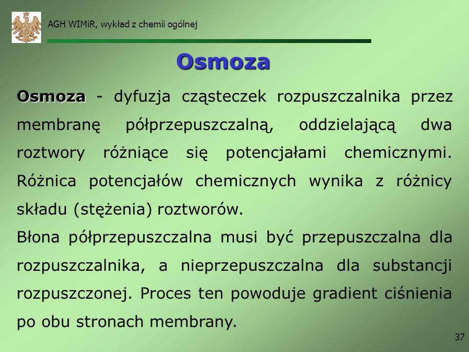 AGH WIMiR, wykład z chemii ogólnej