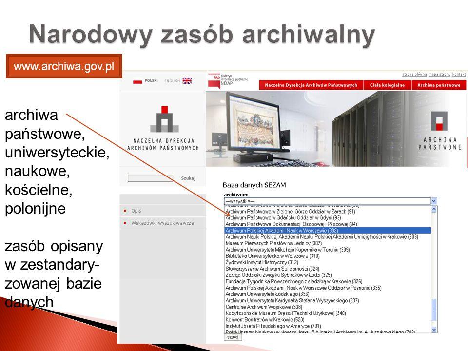 Narodowy zasób archiwalny