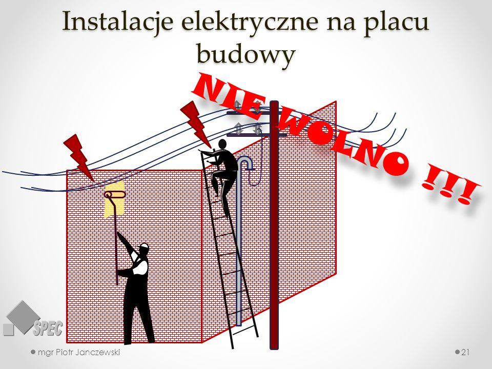 Instalacje elektryczne na placu budowy