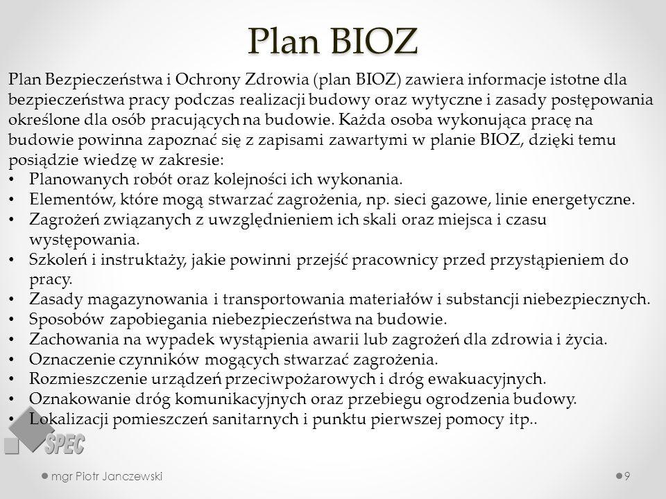 Plan BIOZ