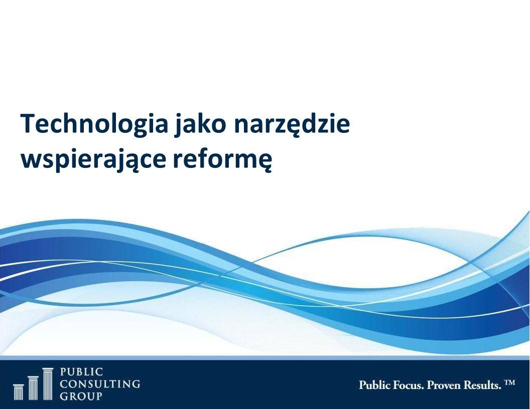 Technologia jako narzędzie wspierające reformę