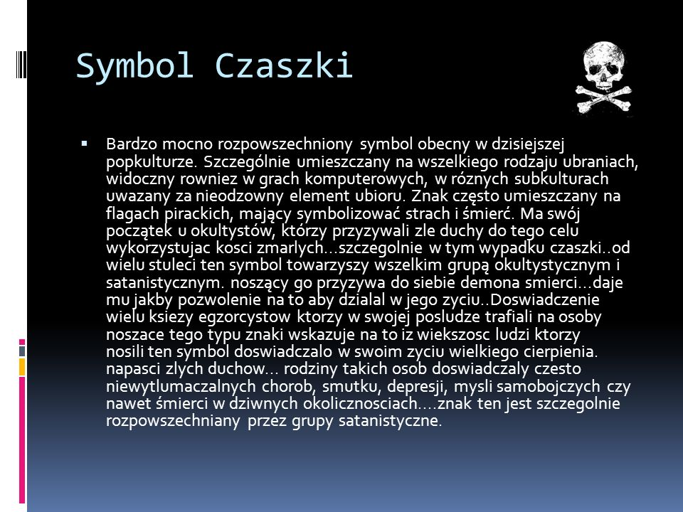 Symbol Czaszki