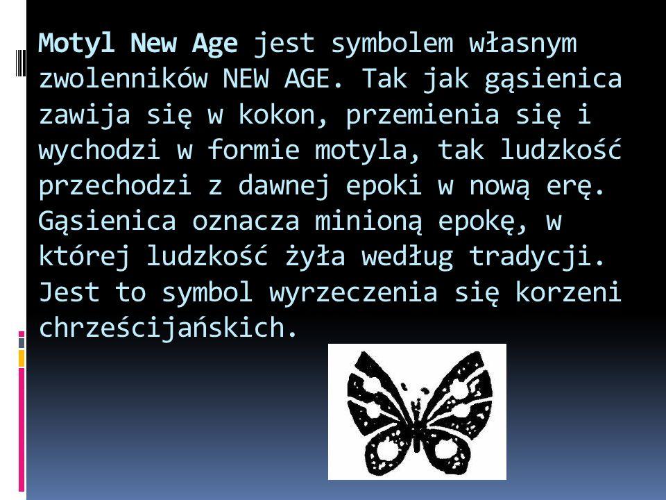Motyl New Age jest symbolem własnym zwolenników NEW AGE