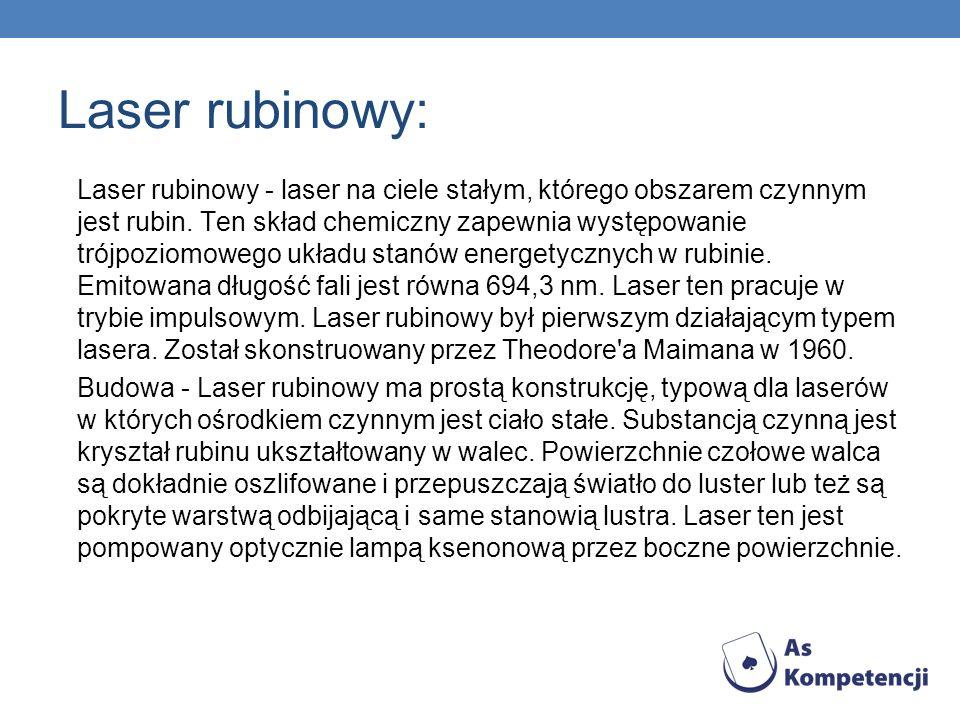 Laser rubinowy: