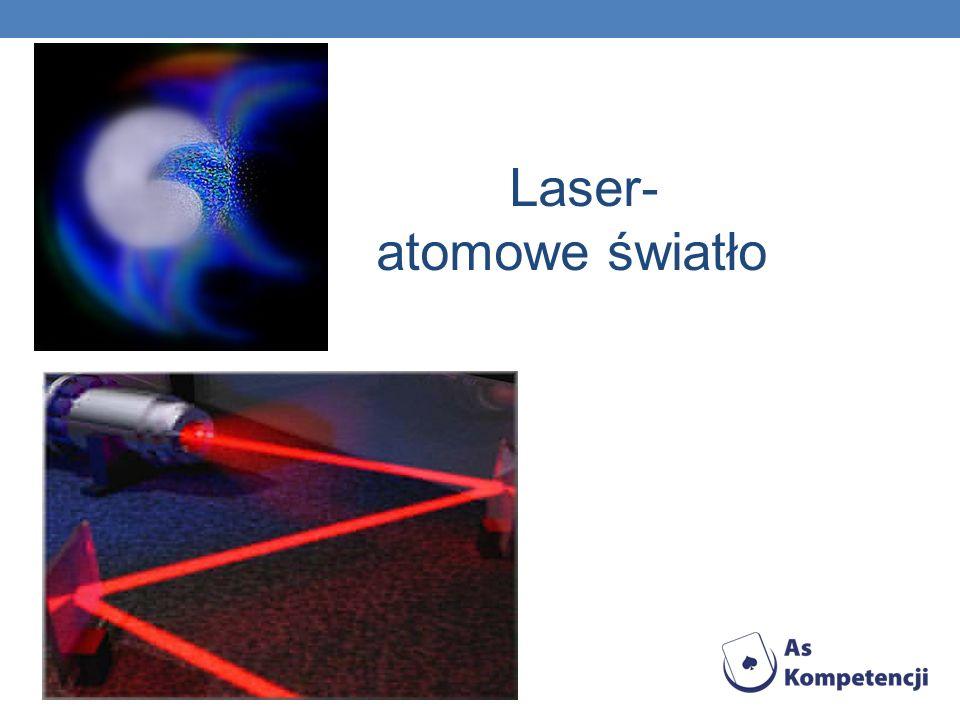 Laser- atomowe światło