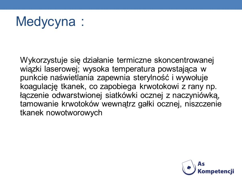 Medycyna :