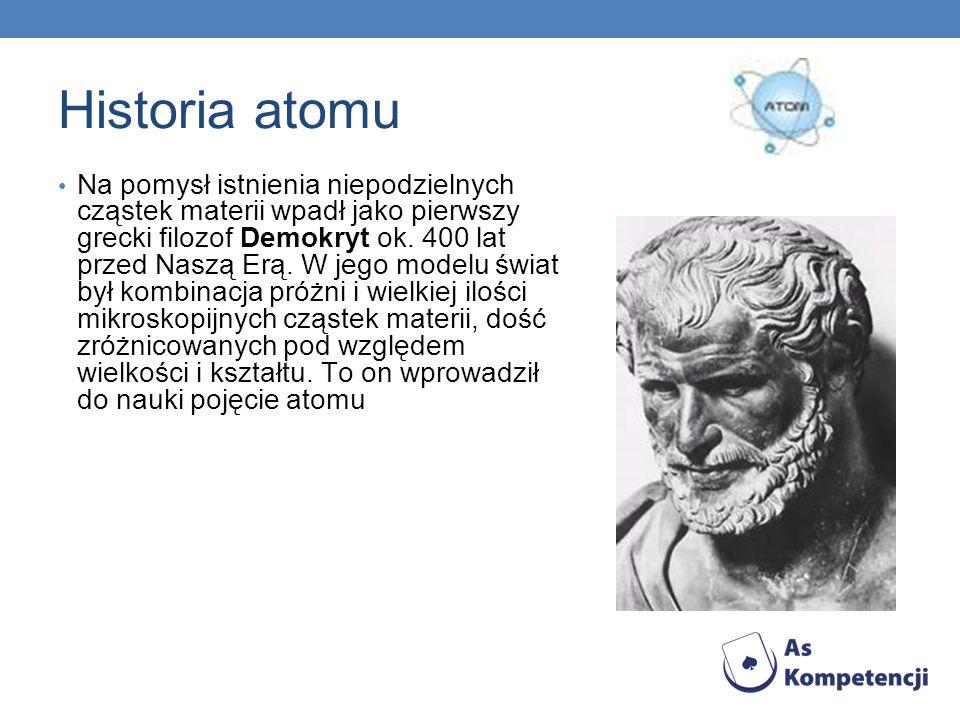 Historia atomu