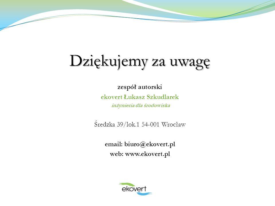 ekovert Łukasz Szkudlarek inżynieria dla środowiska