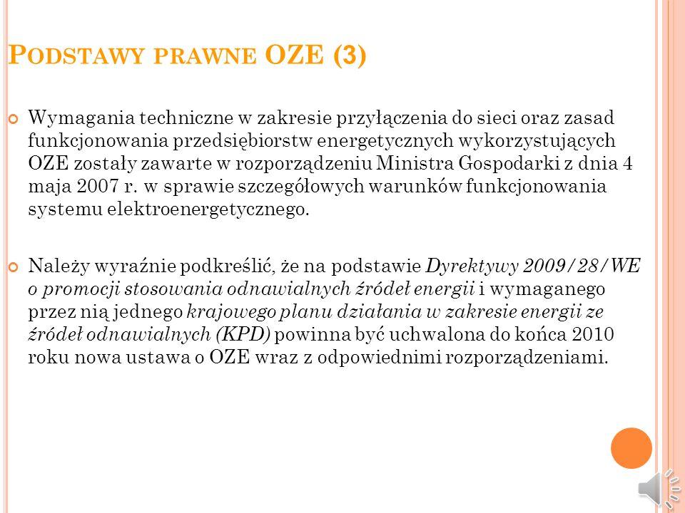 Podstawy prawne OZE (3)