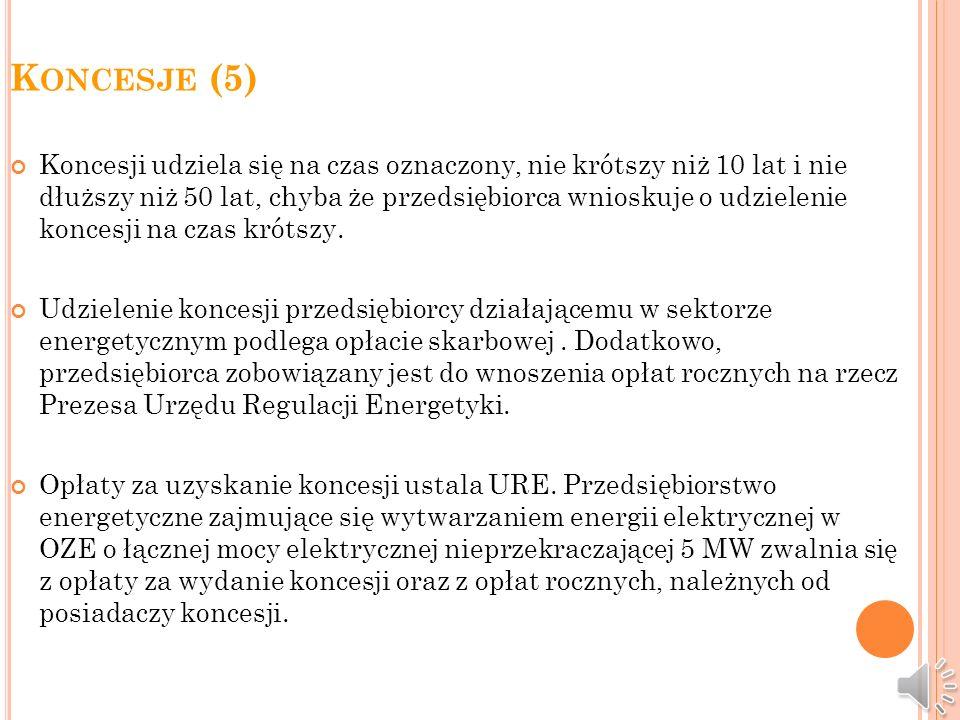 Koncesje (5)