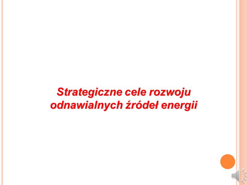 Strategiczne cele rozwoju odnawialnych źródeł energii