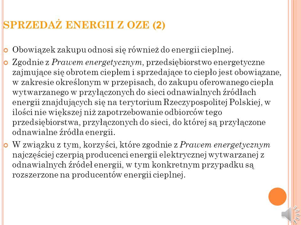 SPRZEDAŻ ENERGII Z OZE (2)