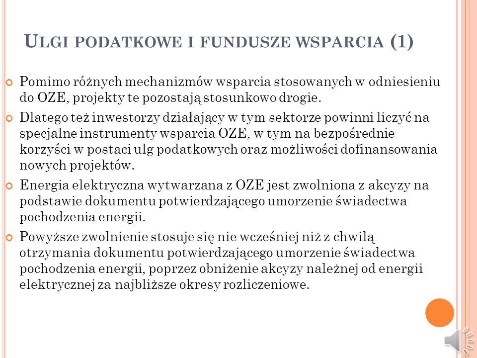 Ulgi podatkowe i fundusze wsparcia (1)